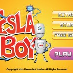 Tesla Boy Main Menu