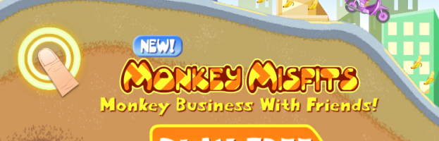 Our Latest iPhone 5s Title Monkey Misfits Puts Players In The Game!
